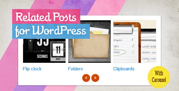 CodeCanyon Related Posts for WordPress 2427013