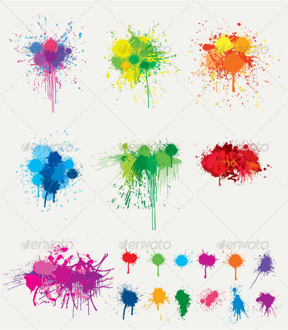 Ink Splat Collection - Decorative Vectors