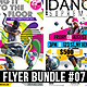 Psychedelic Dance Battle Flyer Bundle #07 - GraphicRiver Item for Sale