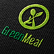 Green Meal Logo Template  - GraphicRiver Item for Sale