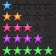 Vector Rating Stars - GraphicRiver Item for Sale