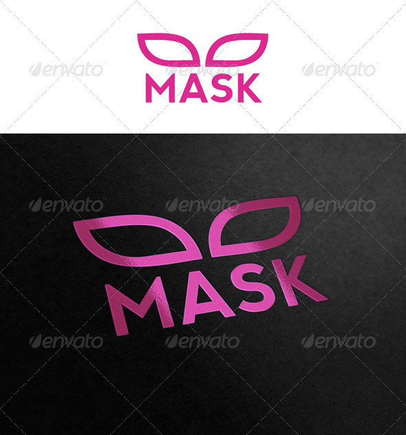 Mask - Objects Logo Templates