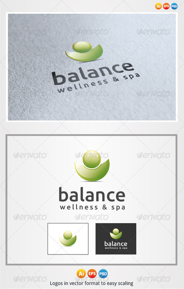 Balance - Nature Logo Templates