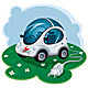 Electric Car - GraphicRiver Item for Sale