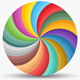Color Wheel With Background - GraphicRiver Item for Sale