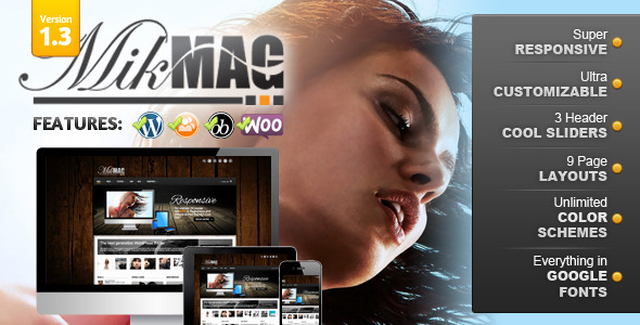 ThemeForest MikMag Responsive Buddypress and Woocommerce 2728331
