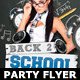 Back to School Party Flyer Template V2 - GraphicRiver Item for Sale