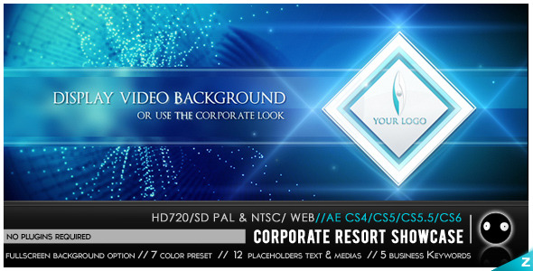 After Effects Project - VideoHive Corporate Resort Showcase 2916222