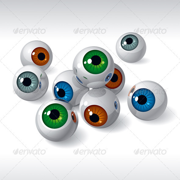 Eyeballs - Miscellaneous Vectors