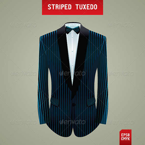 Striped Tuxedo - Man-made objects Objects