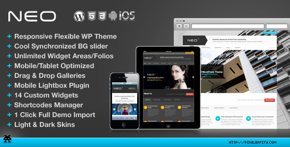 NEO Premium Responsive Business WordPress Theme - Corporate WordPress