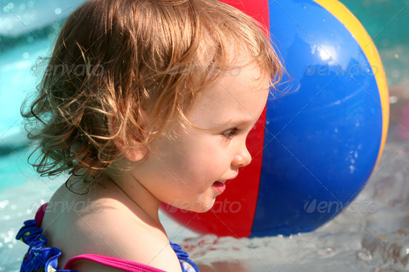 Paddling pool - Stock Photo - Images