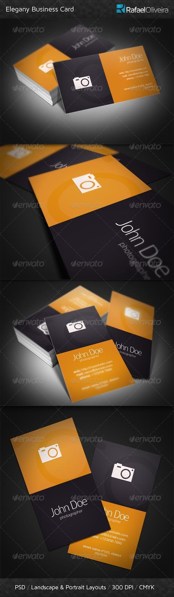 Elegany Business Card - Industry Specific Business Cards
