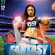 Fantasy Draft Football Party - GraphicRiver Item for Sale