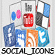 Hand Drawing Social Icons - VideoHive Item for Sale