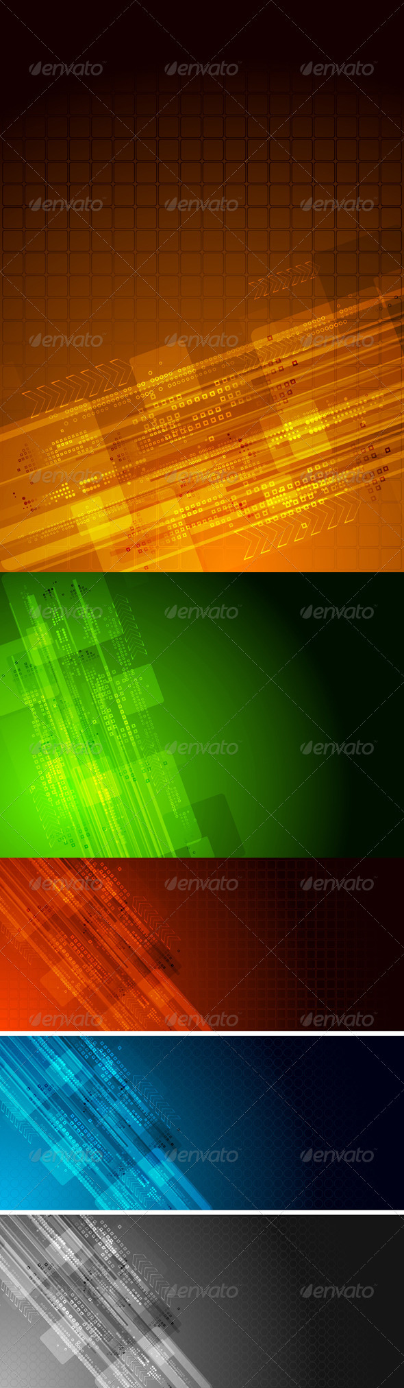 Abstract hi-tech backgrounds - Backgrounds Decorative