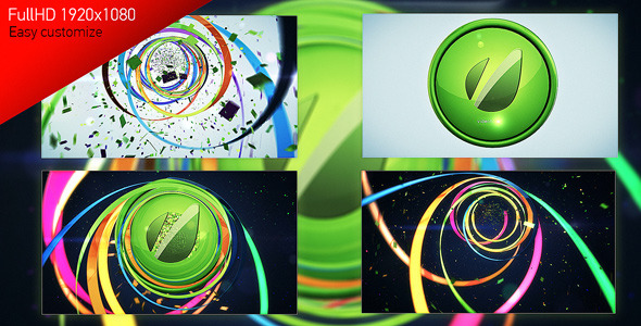 VideoHive Colorful Line Logo Reveal 2920254