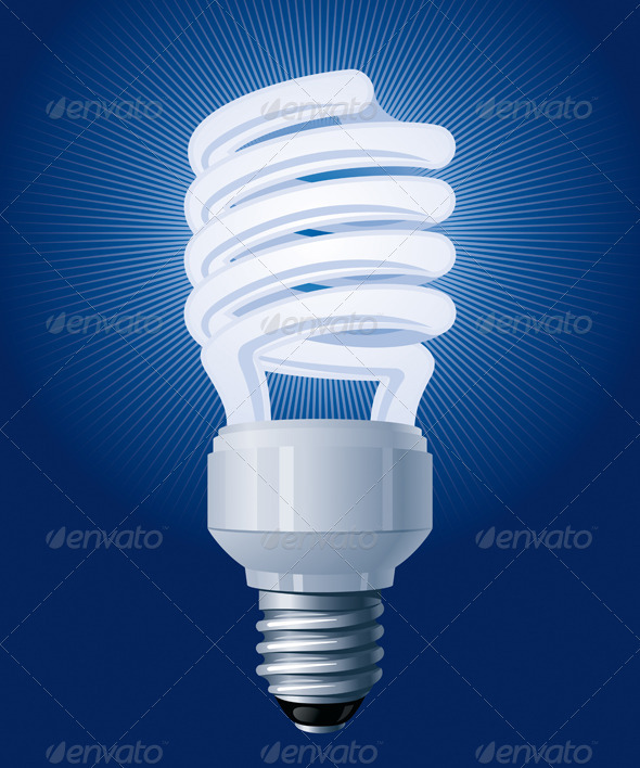 CFL Bulb - Miscellaneous Vectors