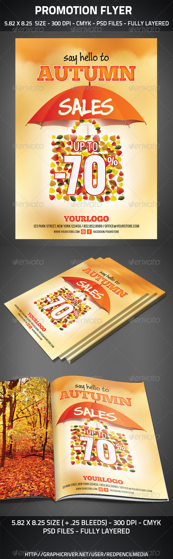 Promotional Sales Flyer - Commerce Flyers