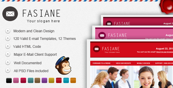 Fasiane E-mail Template