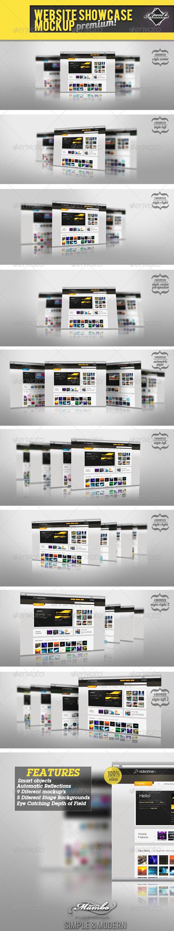 GraphicRiver Website Showcase Mockup 237796