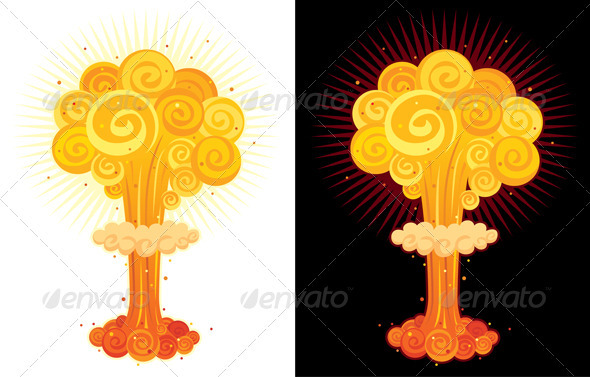 GraphicRiver Nuclear Explosion 130487