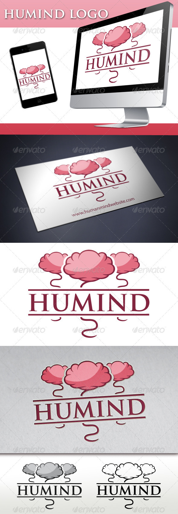 Human Mind Logo - Humans Logo Templates