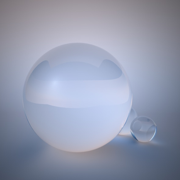 VrayforC4D Glass Material - 3DOcean Item for Sale