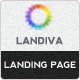 Landiva landing page - ThemeForest Item for Sale