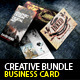 Creative Designer Business Card bundle#3 - GraphicRiver Item for Sale
