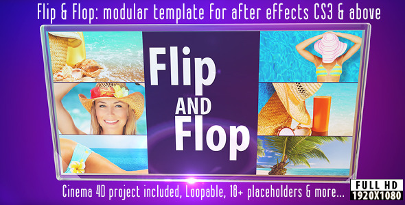 After Effects Project - VideoHive Flip And Flop 2910895