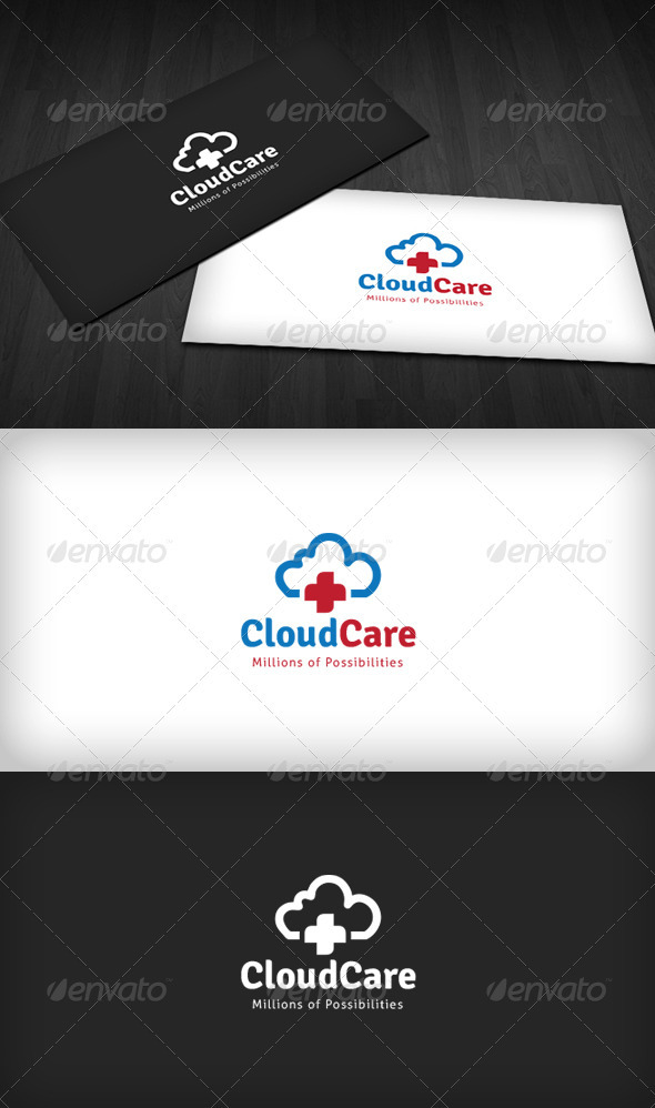 Cloud Care Center Logo - Symbols Logo Templates
