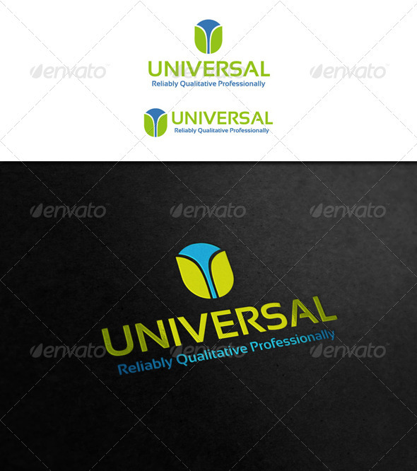 Universal Logo - Letters Logo Templates