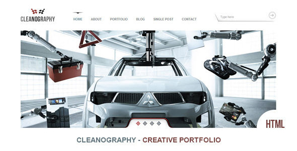 ThemeForest Cleanography Creative Portfolio Template 2930499