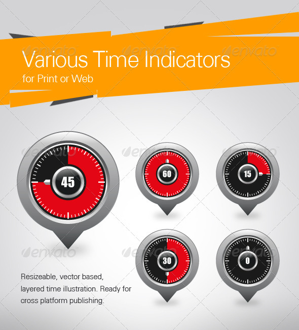 Various Time Indicators - Concepts Business