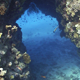 Divers Swim Through the Underwater Tunnel, Red Sea - VideoHive Item for Sale