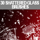 30 Shattered Glass Brushes - GraphicRiver Item for Sale