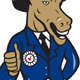 Democrat Donkey Mascot Thumbs Up - GraphicRiver Item for Sale