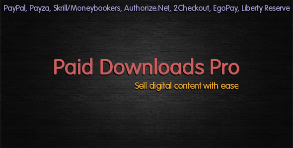 CodeCanyon Paid Downloads Pro 2081656
