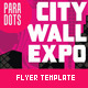 City Walk Art Exhibition Print Template - GraphicRiver Item for Sale
