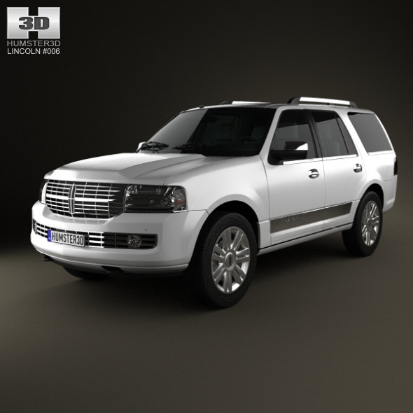 3DOcean Lincoln Navigator U326 2012 2940014