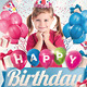 Kids Birthday Invitation Party Flyer - GraphicRiver Item for Sale