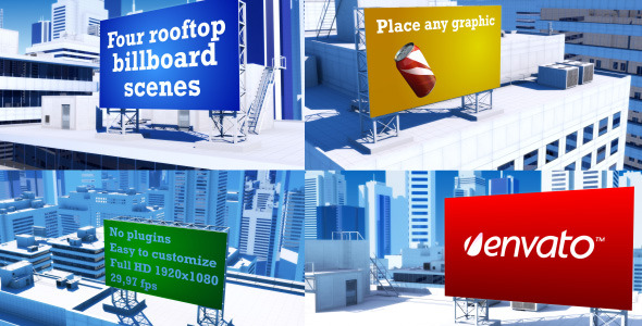 After Effects Project - VideoHive Cityscape Billboards 2941392