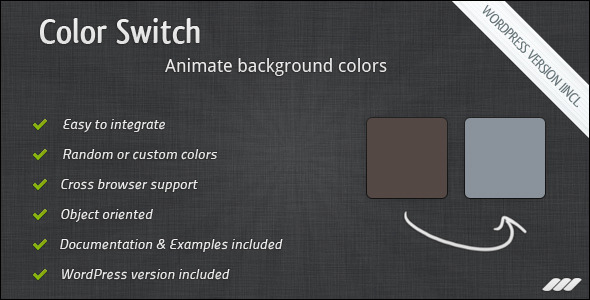 CodeCanyon Color Switch 162426
