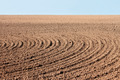 Furrows on autumn field - PhotoDune Item for Sale