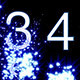 Numbers Revealed By Stars Blue Style - VideoHive Item for Sale
