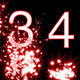 Numbers Revealed By Stars Red Style - VideoHive Item for Sale
