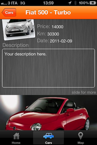 CarSale In App