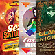Creative Party Flyers Bundle - GraphicRiver Item for Sale