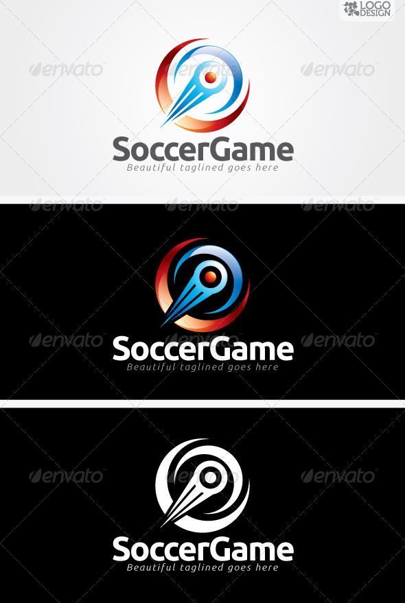 Soccer Game - Objects Logo Templates